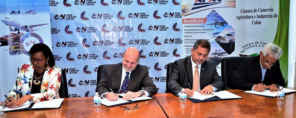 La Zona Libre de Colon FIRMA CONVENIO de COOPERACIÓN CON ORGANIZACIONES COOPERANTES PARA LA RDN ZONA LIBRE 2020